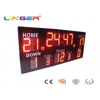 Quality Wireless Control Germany / American Electronic Soccer / Football Scoreboard for sale