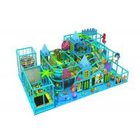 junior kids indoor play structure / kids play centre equipment with rope climbing Manufactures