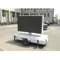 lR1G1B p4.81 Outdoor led mobile digital advertising sign trailer,truck mounted led display Manufactures