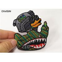 Hook And Loop Military Style Arm Patches , Heat Cutting Morale Patches Velcro Manufactures