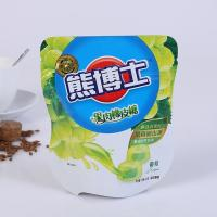 Resealable Biodegradable Stand Up Plastic Bags , Custom Printed Heat Seal Food Bags Manufactures