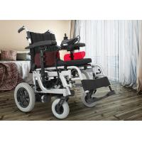 Wholesale cheap price aluminum portable disabled electric wheelchair with battery Manufactures