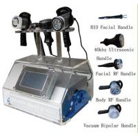 China RF Vacuum Ultrasonic Cavitation Slimming Machine For Lymphatic Drainage on sale