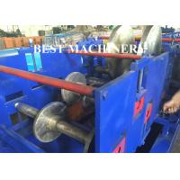 Cable Tray Plank C U Channel Roll Forming Machine Hydraulic Cutter / Punch Manufactures