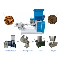 Buy cheap Complete Auto Fish Feed Mill Plant 500kg/H For Floating Fish Feed Pellets from wholesalers