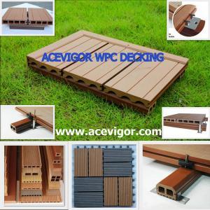 WPC decking & tiles, WPC flooring, Wood Plastic Composite Manufactures