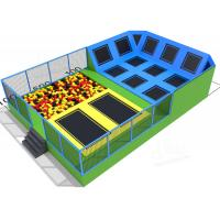 China Children Bungee Activity Indoor Trampoline Equipment Square Size Long Service Time on sale