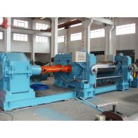 "High hardness Ø26""x80"" Electric Two Roll Rubber Mixing Mill With Cooling water Manufactures"