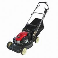 Lawn Mower with Honda Engine, Deck Washport, 3-speed Gearbox and Mulch Plug  Manufactures