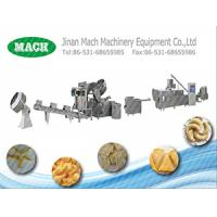 high quality automatic fried corn bugle snacks production line Manufactures