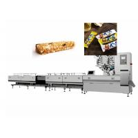 Manual Putting Chocolate Bars Flow Packing Machine 304 Stainless Steel Manufactures