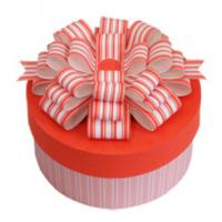 China Paper Cylinder - Shaped Gift Box Packaging Pink For Birthday Cake on sale