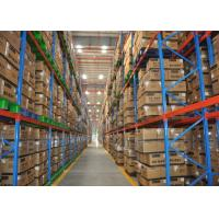 Warehouse Industrial Heavy Duty Pallet Racking With Q235B Material 50.8mm Pitch Manufactures