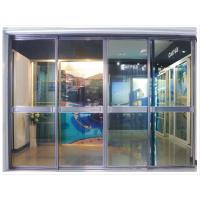 Durable Heavy Duty Aluminum Sliding Door, Office Metal Partition Sliding Doors With Glass Manufactures