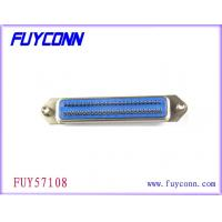 China 0.085in Centerline DDK Ribbon Cable Connector , Solder Pins Female Connectors on sale