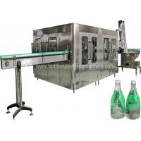 Buy cheap 8000 BPH Glass Bottle Carbonated Soft Drink Filling Machine With PLC Control from wholesalers