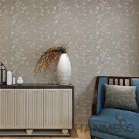 China Natural Plant  Fiber Particle Interior Wallpaper Hotel Office Decor on sale