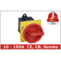 Semko Communication 6 Pole Rotary Isolator Switch DIN Rail , CE Rohs Manufactures