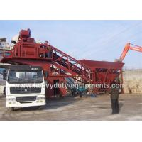 China Hongda HZS/HLS120 Concrete Construction Equipment 125kw Concrete Mixing Plants on sale