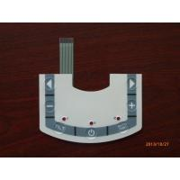 China Commercial Tactile Backlit Membrane Switch For Control Panel , Low Power on sale