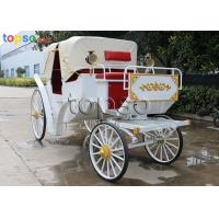 Sightseeing Cinderella Horse Carriage Steel Resin Texitile Rubber Materials Manufactures