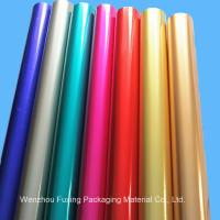 China Hot Stamping Foil for Paper/Plastic/Leather/Textile/Fabrics on sale
