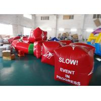 Buy cheap Water Triathlons Advertising Inflatable Promoting Buoy For Ocean Or Lake from wholesalers