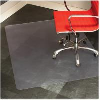 China Hard Surface Folding Non Studded Chair Mats For Carpet Floor / Office Desk on sale