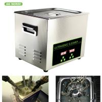 Automatic Industrial Dental Ultrasonic Cleaner Wash Tank 500 Watt For Car Parts Manufactures