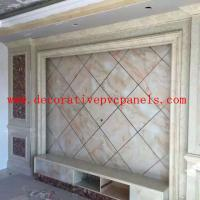 Indoor Decoration Marble Stone UV Board Wall Cladding WPC Panel Manufactures