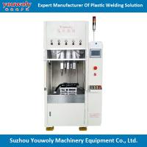 Corrugated Plastic Box Plastic Ultrasonic Welding Machine Pneumatic Driven Mode vibration welding machine Manufactures