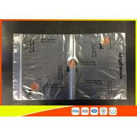 Printed LDPE Clear Plastic Bags , Reclosable Industrial Strength Zip Lock Bags Reusable Manufactures