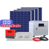 China Home 3KW 5KW 10KW Rooftop Solar Panel System on sale