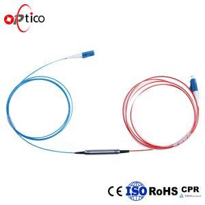 1x2 FBT Fiber Optic Splitter Coupler 30/70 Split Rate LC APC Connector Manufactures