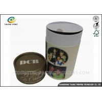 China Custom Packaging Paper Tube Fancy Logo Printed 1.5-2mm Cardboard Materials on sale
