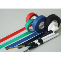 Quality ROHS Approved Rubber Adhesion PVC Insulating Tape For Cable Harnessing for sale