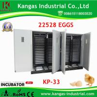 Large size chicken eggs hatching incubator/Automatic Egg Incubator for 22528 chicken eggs Manufactures