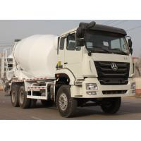Industrial Concrete Mixing Truck For Road Repairing / Cement Truck Mixer Manufactures