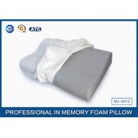 Visco Elastic Contoured Bamboo Charcoal Memory Foam Pillow For Neck Orthopedic Manufactures