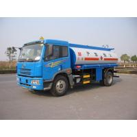 Transporting Petroleum Fuel Oil Tank Truck / Lorry (4x2) 12CBM With ISO9001
