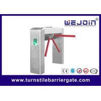 RFID Card Pedestrian Barrier Turnstile Gate Automatic With Traffic Light Indicator Manufactures
