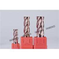 11mm , 4 Flute , Square End Mill , SiN Copper Colour ,  upto HRC55 , CNC end mill Manufactures