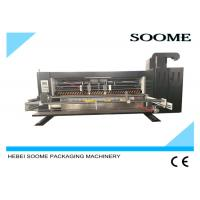 China Industrial Die Cutting And Creasing Machine For Corrugated Cardboard Carton Box on sale