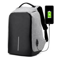 China Reflective Anti Theft Travel Backpack , Business USB Charging Laptop Backpack on sale