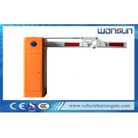 China High Speed Car Park Barriers With 4.5 meters 180 Degree Articulated Boom on sale