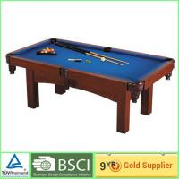 China Billiards 18mm MDF Table soccer game table with 2 pcs plastic wheels 24mm MDF Court on sale