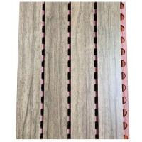 Active Noise Cancellation Sound Proof Wooden Board Music Room Grooved Wall Panel Manufactures