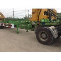 China Side Lifter 3 Axles Truck Mounted Crane 20ft 40ft FUWA Brand Tri Axle on sale