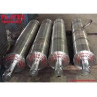 China 3 Stages Telescopic Hydraulic Cylinder For Hydraulic Lifting Equipment on sale