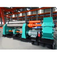 7.5kw Symmetrical Bending Machine 30 X 2500mm With 380mm Diameter Lower Roller \ Manufactures